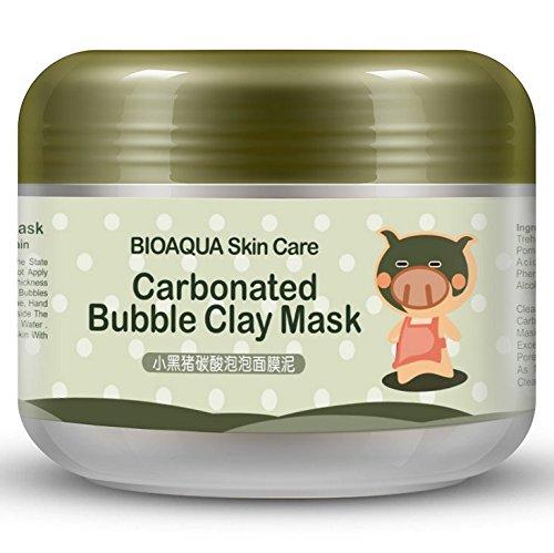bubble mask collagene nettoyant face cream