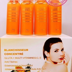 BLANCHISSEUR CONCENTRE EXTRA FORT PAPAYA RAFFINE ANTI TACHES VITAMINES C&E 1 PIECE