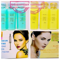 BLANCHISSEUR SERUM GLUTA KOJIC & COLLAGENE XTRA FORT ANTI TACHES 2 PIECES
