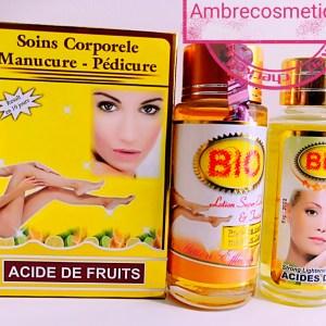 BIO DUO ANTI TACHES GOMMANT ACIDES DE FRUITS