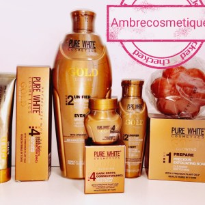 GAMME PURE WHITE GOLD GAMME ECLAIRCISSANTE 5 PIECES