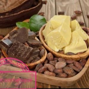 BEURRE DE CACAO BIO BRUT 300G : l'allié des peaux sèches et déshydratées
