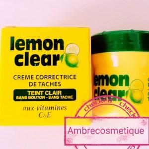LEMON CLEAR CREME VISAGE ECLAIRCISSANTE