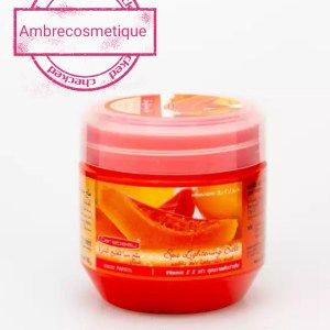 CAREBEAU GOMMAGE ULTRA ECLAIRCISSANT PAPAYA AHA ACIDES DE FRUITS 700G