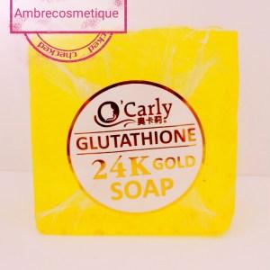 GLUTATHIONE & COLLAGENE ECLAIRCISSANT INTENSE 24K GOLD SAVON CORPS ET VISAGE