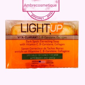 ECLAIRCISSANT LIGHT UP SAVON CAROTTE COLLAGENE & VITAMINE B3 & ALOE VERA
