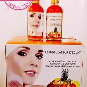 COLLAGENE REGULATEUR D'ECLAT SUPER ECLAIRCISSANT CONCENTRE ANTI TACHES ACIDES DE FRUITS