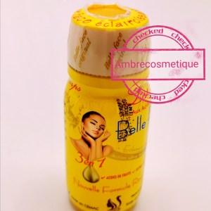 LOTION BELLE FACE ACIDES DE FRUITS & VITAMINE E ANTI TACHES ACTION ULTRA FORT RESULTAT 5 JOURS