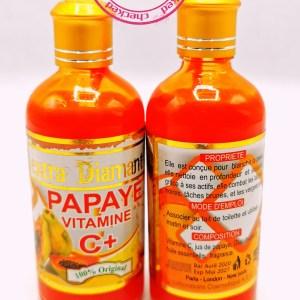 EXTRA DIAMANT PAPAYA VITAMINE C & GLUTATHIONE SERUM ANTI TACHES SUPER ECLAIRCISSANT AUX ACIDES DE FRUITS