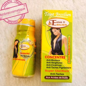COLLAGENE COENZYME VITAMINE A ET D TEINT BRESILIEN STRONG WHITENING EXTRA FORT ACTION RAPIDE ANTI TACHES