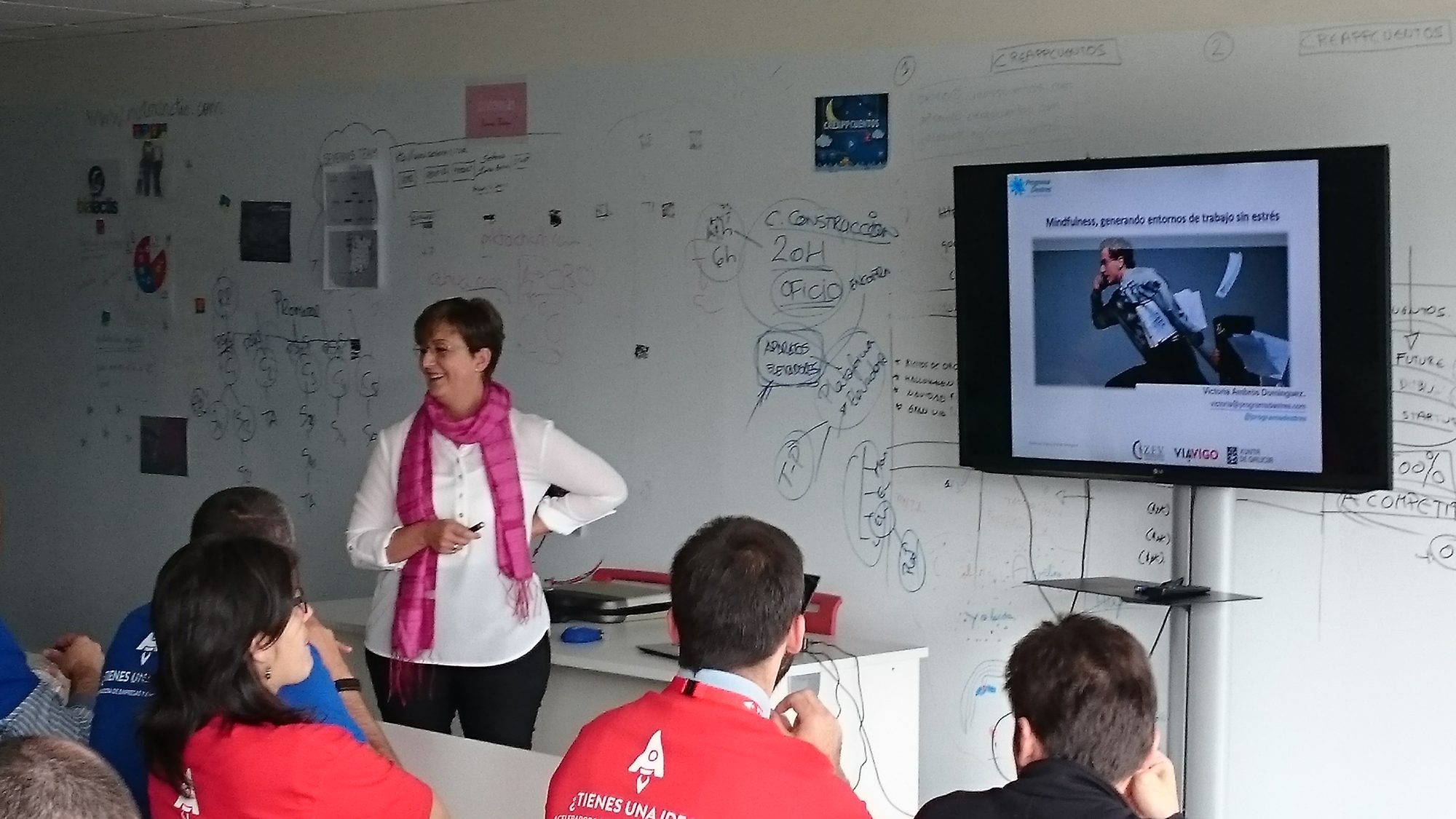 Conferencia impartida en Vía Vigo -Zona Franca de Vigo
