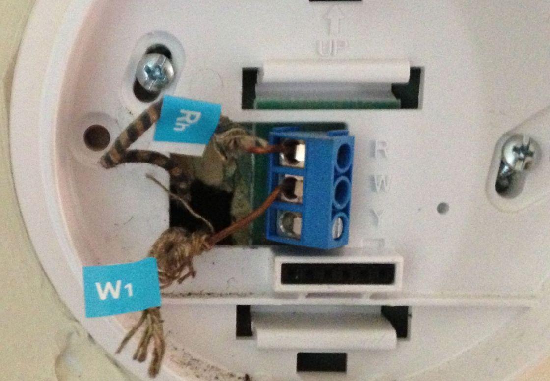 medium resolution of nest install label wires