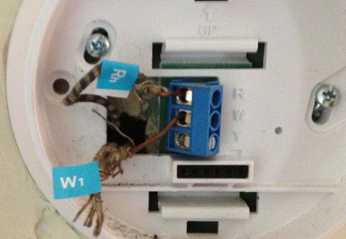 small resolution of nest install label wires