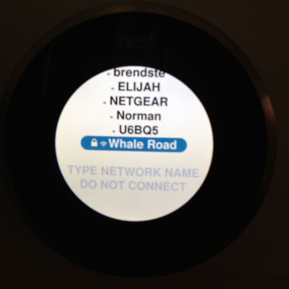 hight resolution of the nest slides so smoothly feels solid and dialing it to enter the password was strangely reminiscent of using a rotary