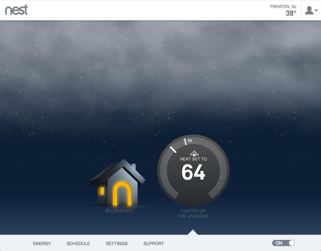 medium resolution of nest thermostat control