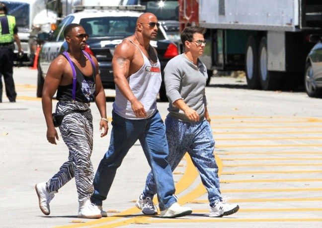 Mark-Wahlberg-Dwayne-Johnson-and-Anthony-Mackie-on