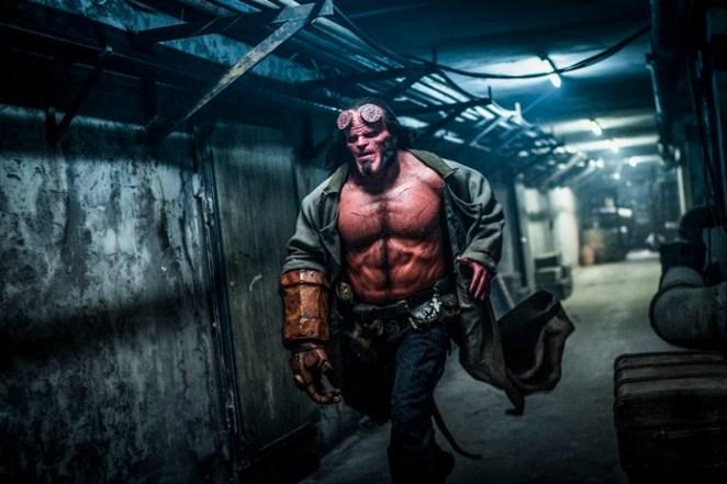 """- HB D044 07761 RC - """"Hellboy"""" versão 2019 perde a chance de criar uma nova franquia para o personagem"""