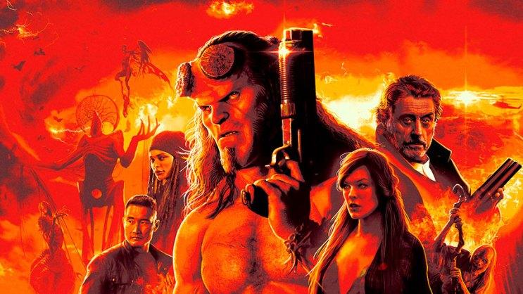 """- Hellboy Capa Amb - """"Hellboy"""" versão 2019 perde a chance de criar uma nova franquia para o personagem"""