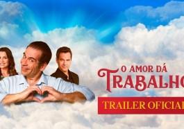 Leandro Hassum vira cupido de Flávia Alessandra no trailer de 'O Amor Dá Trabalho' | Filmes | Revista Ambrosia