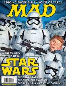 - mad star wars - Revista MAD fecha as portas nos Estados Unidos