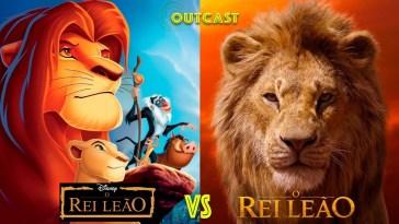 O Rei Leão (1994) vs O Rei Leão (2019) no Outcast! | Filmes | Revista Ambrosia