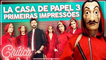 Assisti a La Casa de Papel Parte 3! 😱 Primeiras Impressões   Rio   Revista Ambrosia