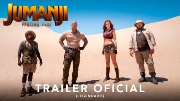 "Jumanji: Próxima Fase ganha seu primeiro trailer | Dwayne ""The Rock"" Johnson | Revista Ambrosia"