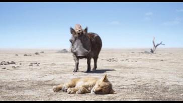 O Rei Leão - Timão e Pumba encontram Simba em cena divulgada | Videos | Revista Ambrosia