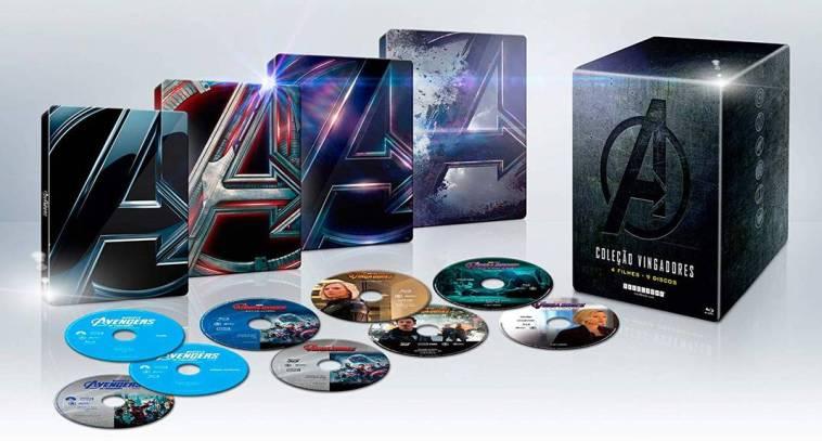 Vingadores - Box especial reúne os quatro filmes da equipe   Filmes   Revista Ambrosia