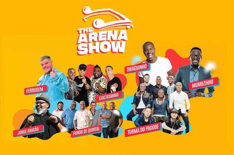 Festival Samba Arena reúne grandes artistas na Arena Corinthians | Agenda | Revista Ambrosia