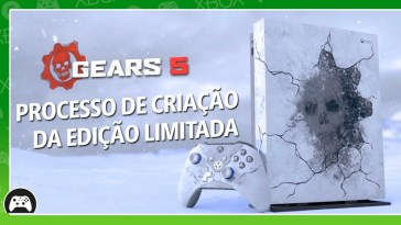 Criação do Gears 5 Limited Edition Xbox One X e do controle Kait Diaz | Games | Revista Ambrosia