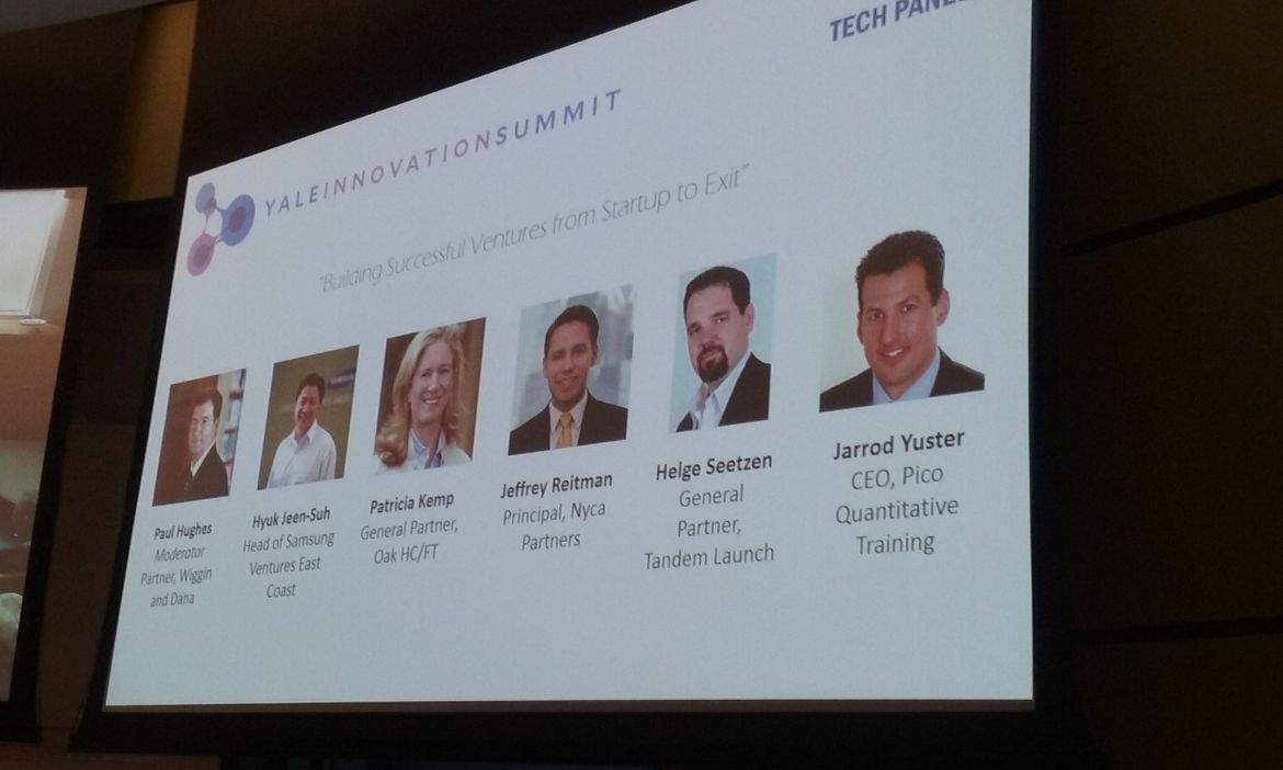 Yale Innovation summit Panel Technology1