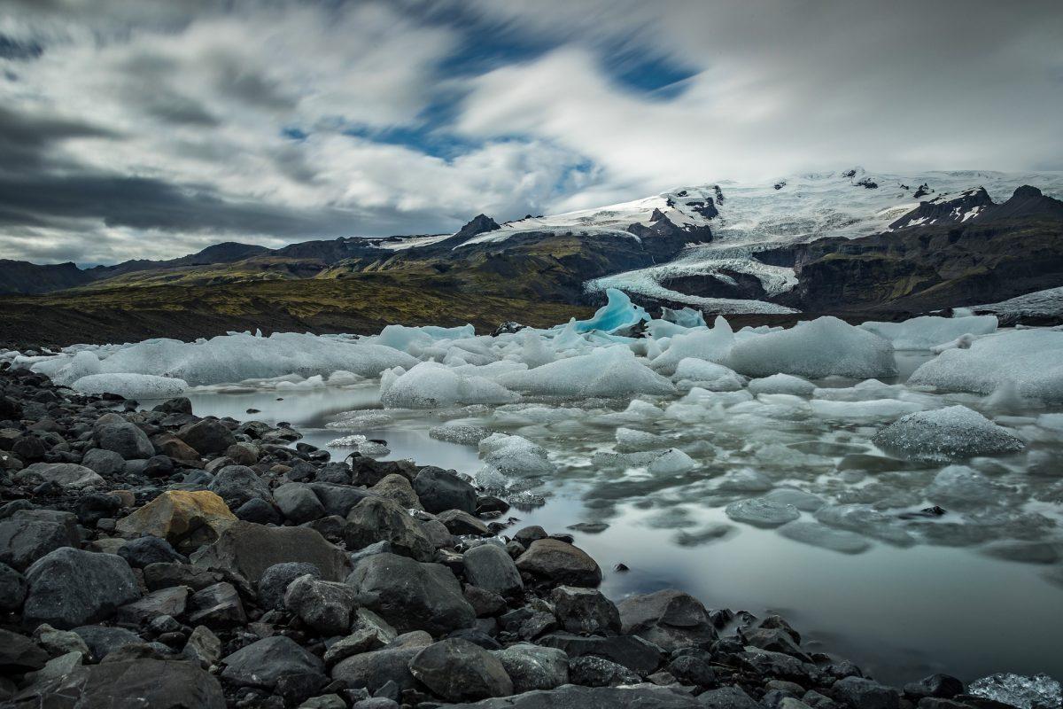 ICELAND - ICE BEACH