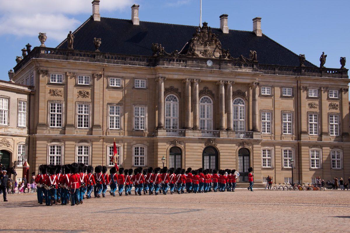 copenhagen-Amalienborg Palace,