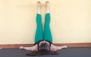 legs up the wall pose viparita karani