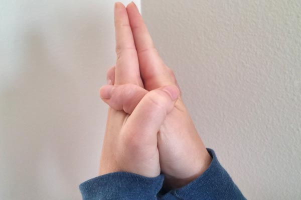 ksepana mudra for letting go