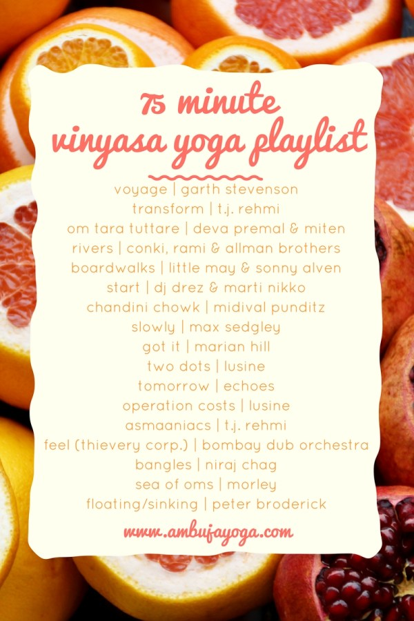 vinyasa yoga playlist
