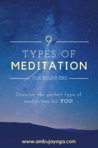 meditation types beginners