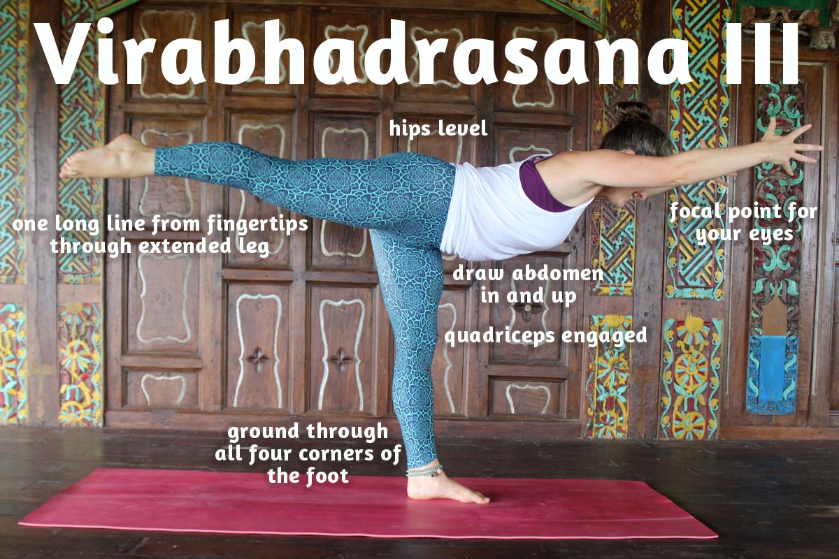 How To Teach Warrior Three Alignment Tips Modifications Sequencing Ambuja Yoga
