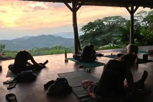 affordable yoga retreat nicaragua march 2019 sunset yoga