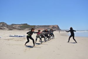 surf yoga retreat Portugal