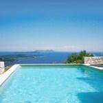 luxury yoga retreat greece pool view