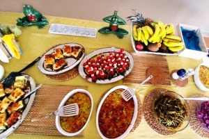 urania villa meal greece yoga retreat 2019