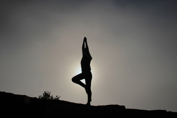 yoga poses for better foot health tree pose