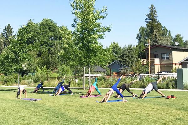 Silent Disco Yoga Classes Bend Oregon