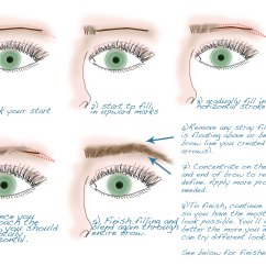 How To Apply Eyeshadow Diagram Blaupunkt Wiring Tutorial Tuesdays Eyebrow Shaping And Filling