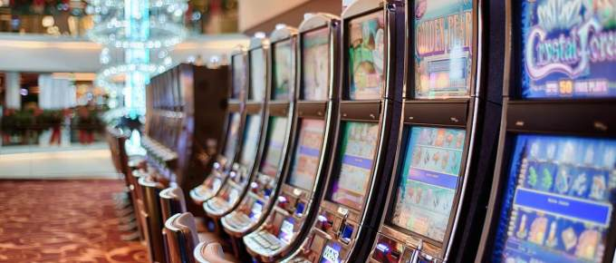 Multiple slot machines in a row