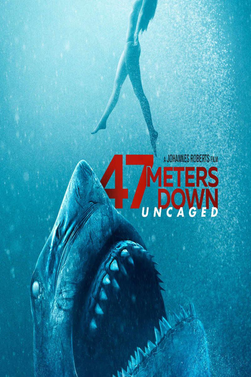 47 Meters Down Uncaged Streaming Vf : meters, uncaged, streaming, Meters, Down:, Uncaged, Available, Demand!
