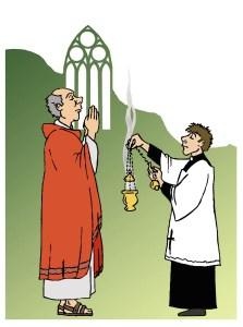 Why do Catholic Church use incense