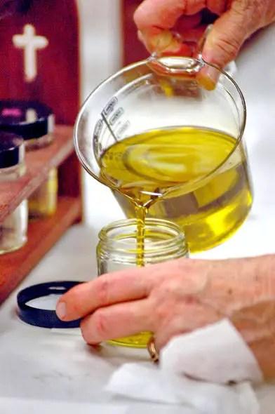 Chrism oil